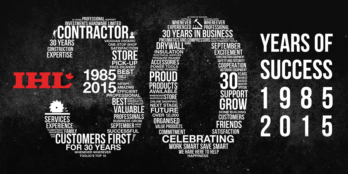 About IHL - 30 years of success
