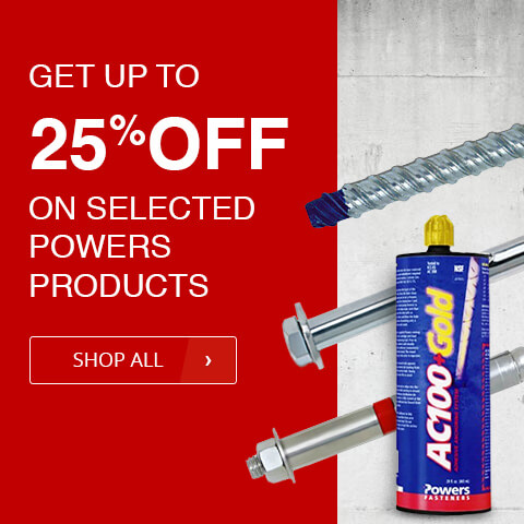 Get up to 25% OFF on selected POWERS products