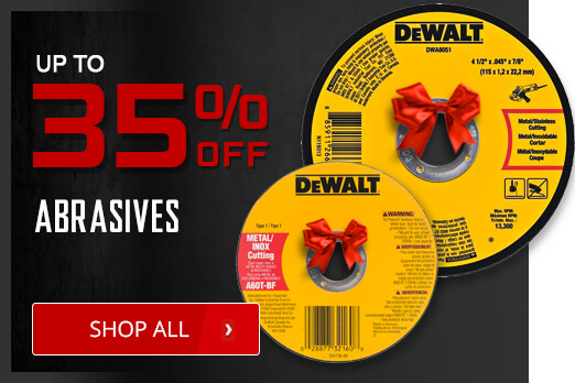 Black Friday Deals - Abrasives