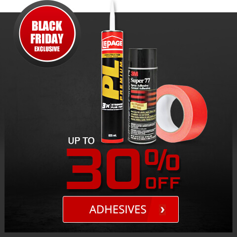 Black Friday Deals - Adhesives
