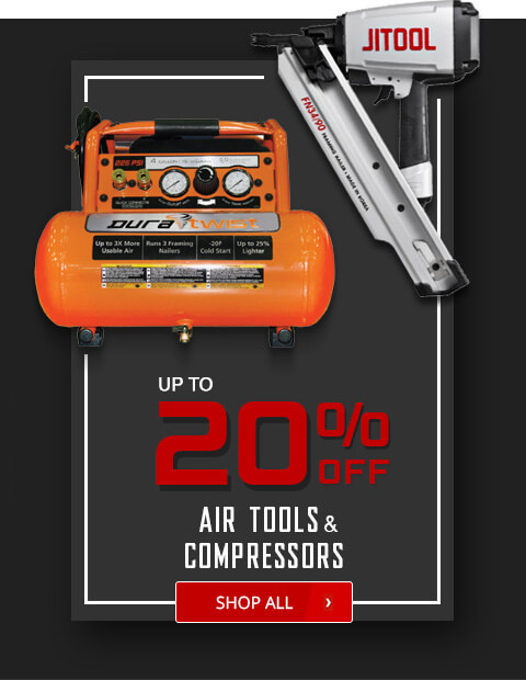 Black Friday Deals - Air Tools and Compressors