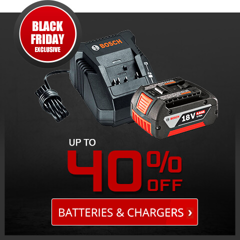 Black Friday Deals - Batteries and Chargers