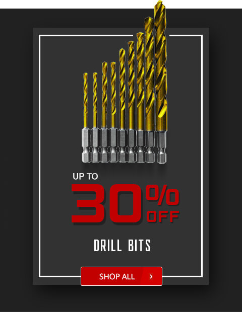 Black Friday Deals - Drill Bits