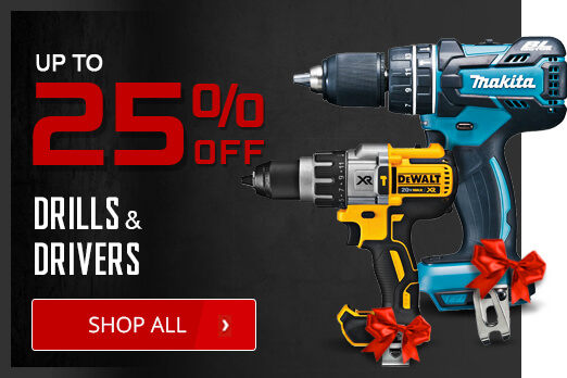 Black Friday Deals - Drills and Drivers