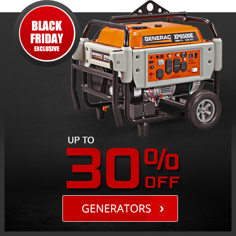 Black Friday Deals - Generators