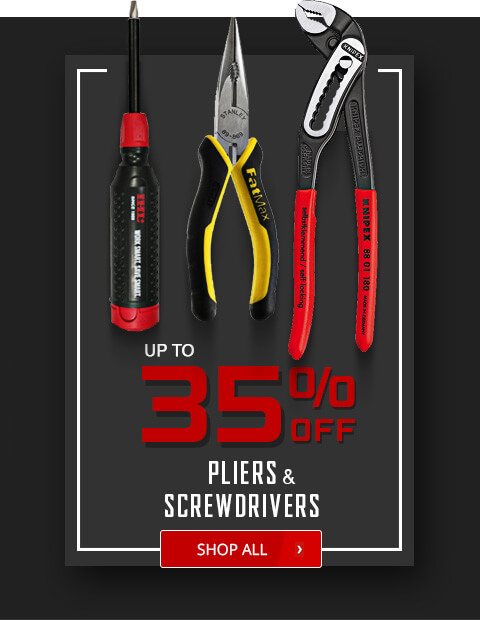 Black Friday Deals - Pliers and Screwdrivers