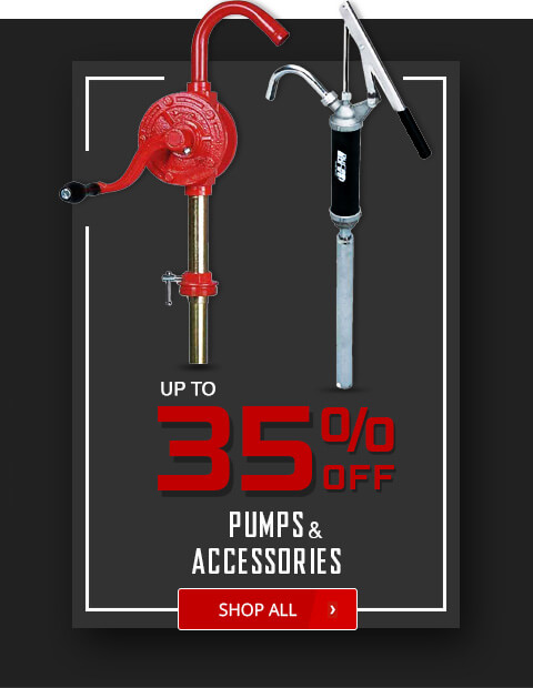 Black Friday Deals - Pumps and Accessories