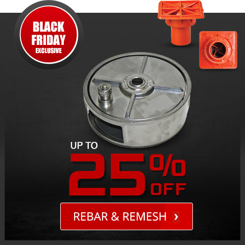 Black Friday Deals - Rebar and Remesh