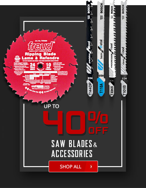 Black Friday Deals - Saw Blades and Accessories