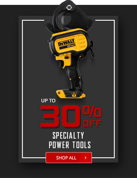 Black Friday Deals - Specialty Power Tools
