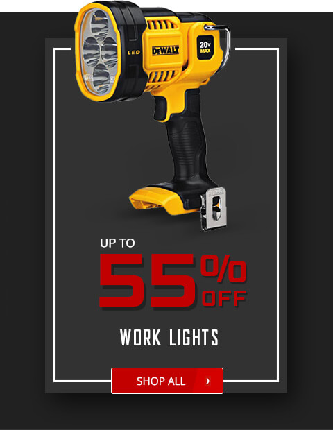 Black Friday Deals - Work Lights