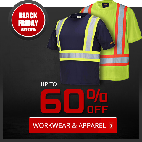 Black Friday Deals - Workwear and Apparel