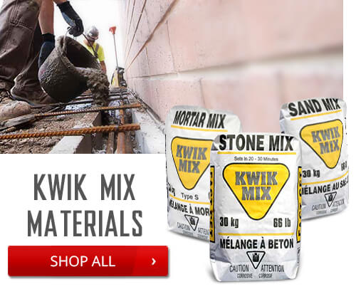 Shop Kwik Mix Materials
