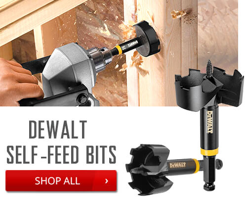 Dewalt Self-Feed Bits