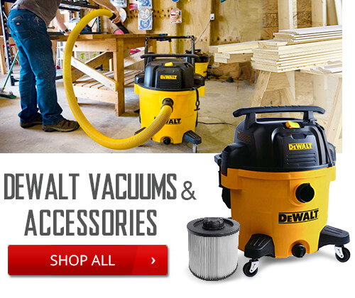 Shop Dewalt Vacuums and Accessories