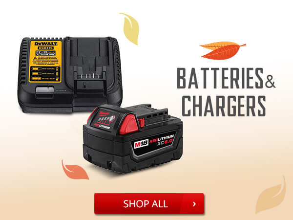 Shop Batteries and Chargers