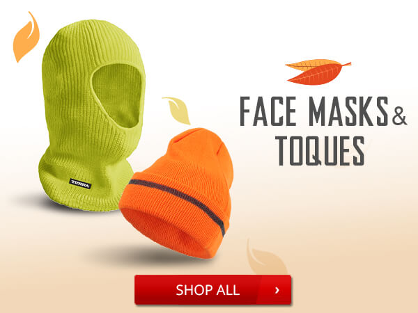 Shop Face Masks and Toques