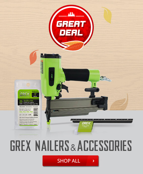 Shop Grex Nailers and Accessories