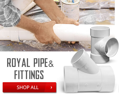 Shop Royal Pipe and Fittings
