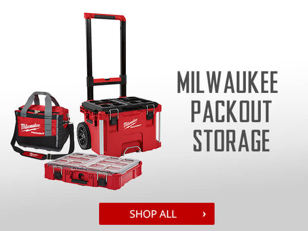 Shop Milwaukee Packout Storage