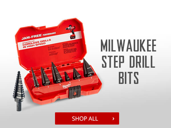 Shop Milwaukee Step Drill Bits