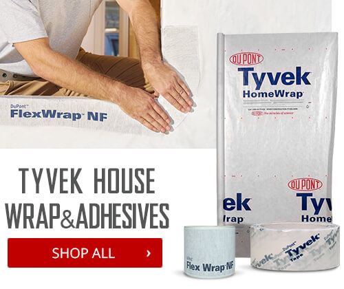 Shop Tyvek House Wrap & Adhesives
