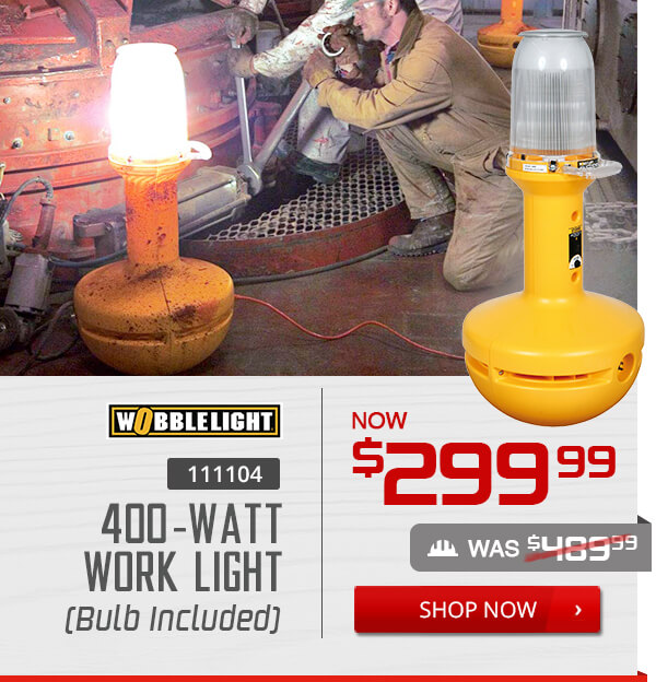 Shop Wobblelight 111104 36 in. 400-Watt Metal Halide Work Light