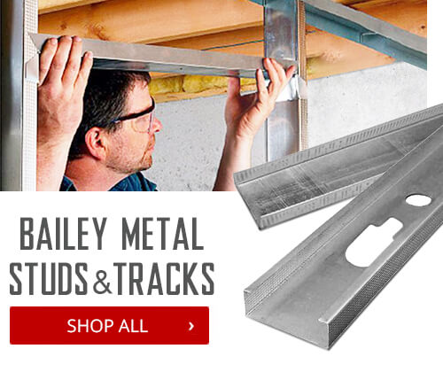 Shop Bailey Metal Studs & Tracks