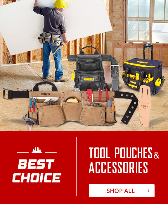Shop All Tool Pouches & Accessories