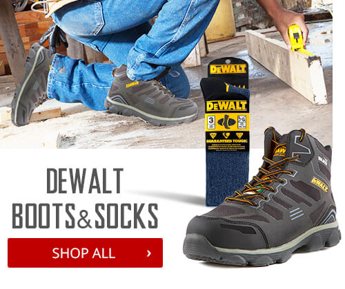 Shop Dewalts Safety Boots & Socks