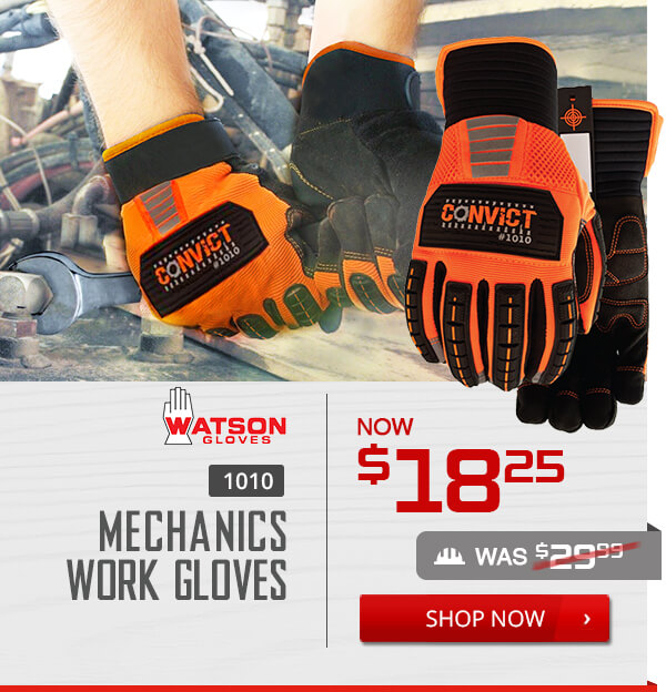 Shop Watson 1010 Mechanics Work Gloves