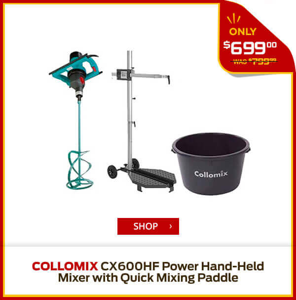 Shop Collomix CX600HF Power Hand-Held Mixer with Quick Mixing Paddle