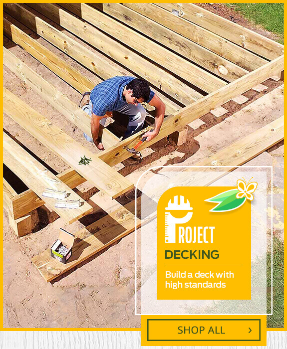 Shop Materials for Decking Projects