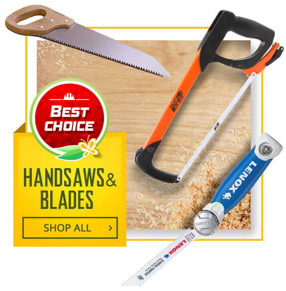 Shop Hand Saws and Blades