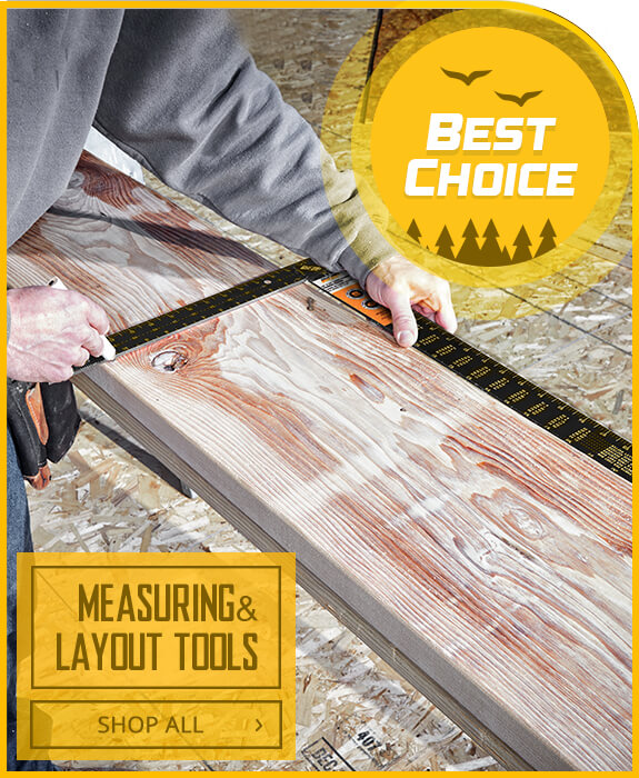 Shop Measuring and Layout Tools