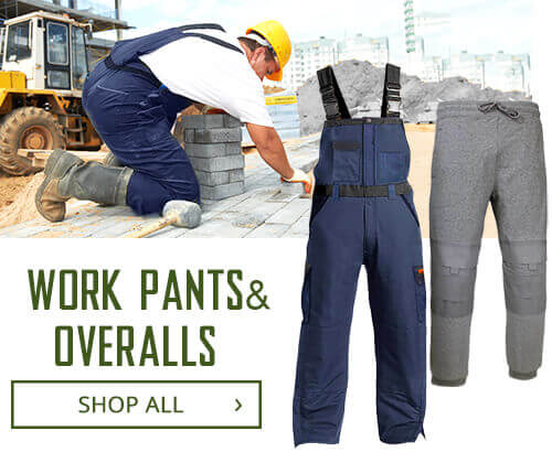Shop Work Pants and Overalls