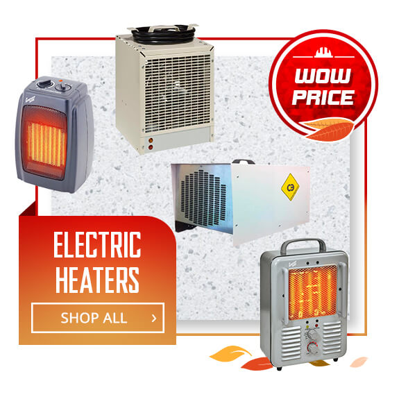 Shop Electric Heaters
