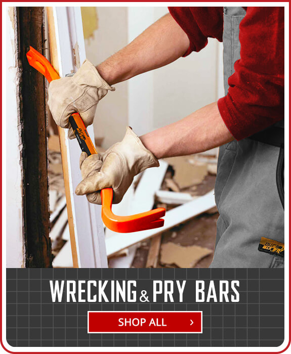 Shop Wrecking & Pry Bars