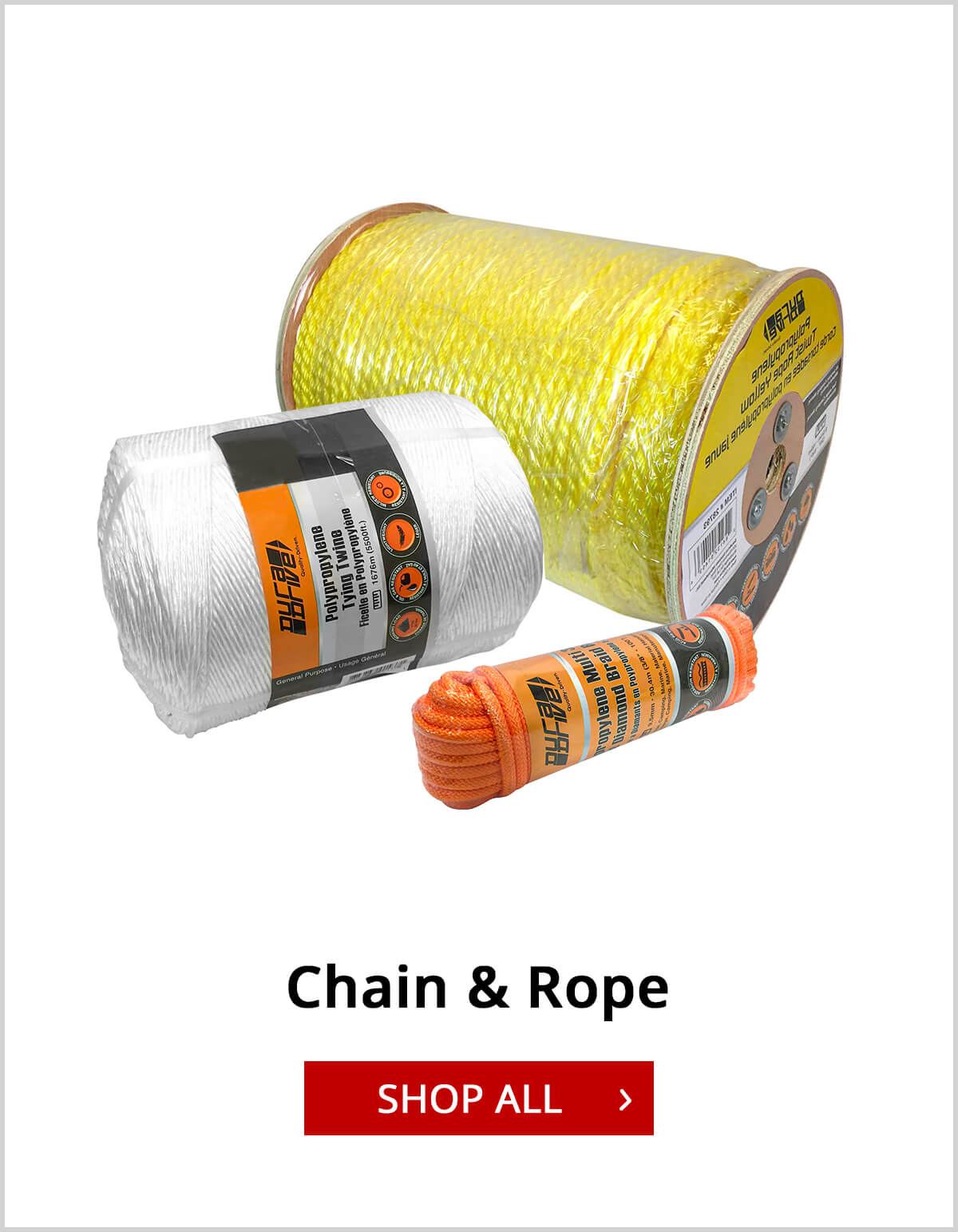 Shop Chain and Rope