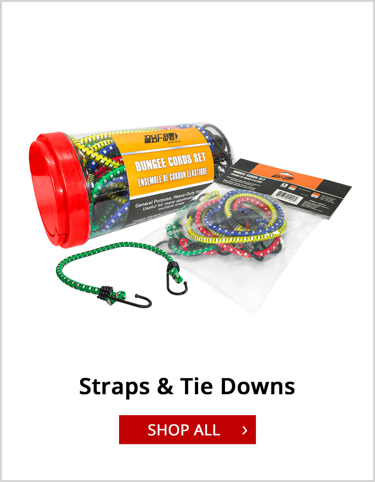 Shop Straps and Tie Downs