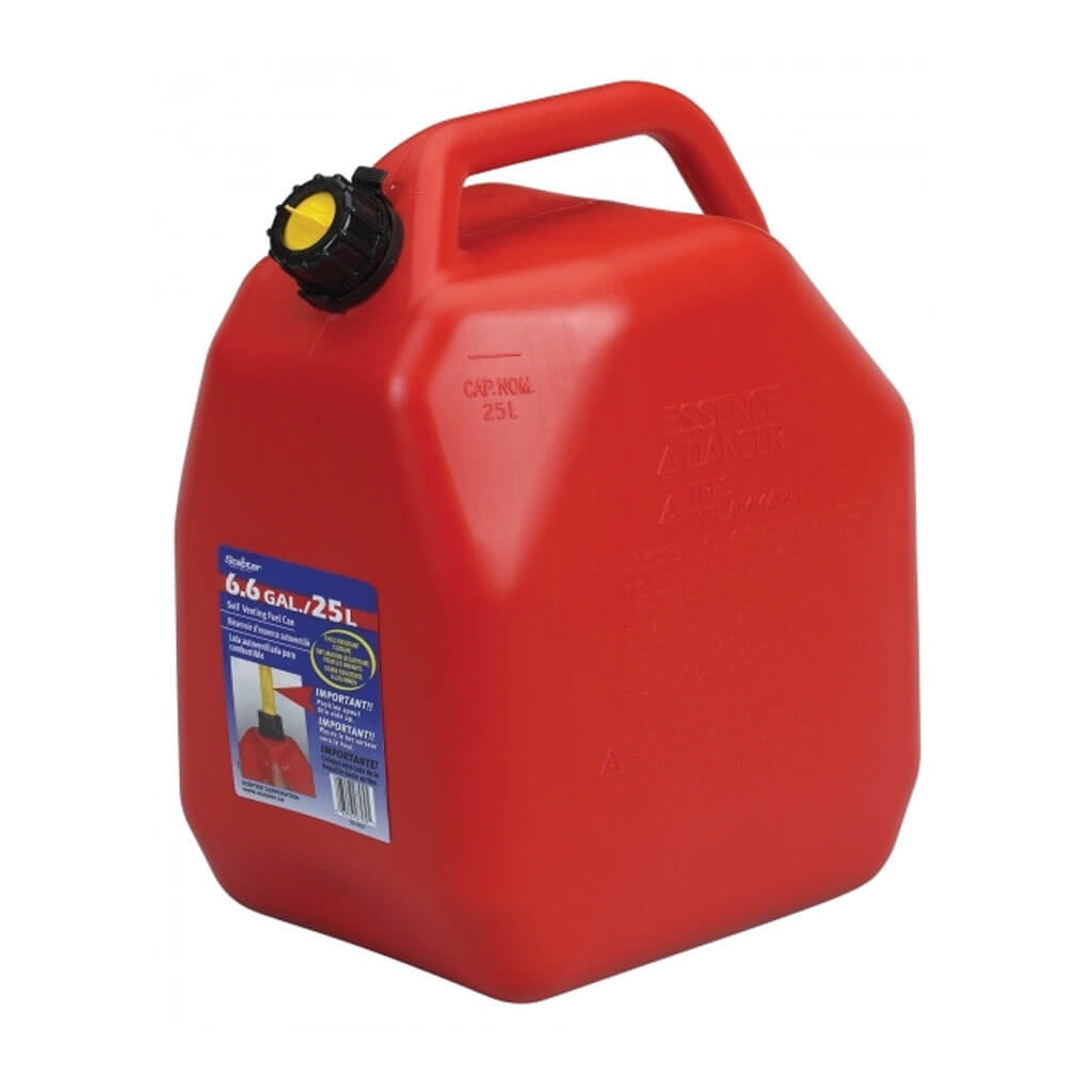 Scepter 25 Litre Self Venting Gasoline Jerry Can