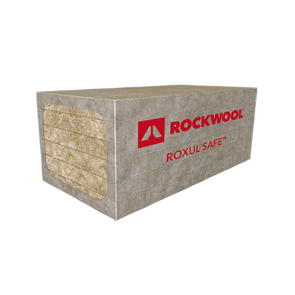 Rockwool roxul safe 45 1 in x 24 in x 48 in semi rigid for Roxul mineral wool insulation