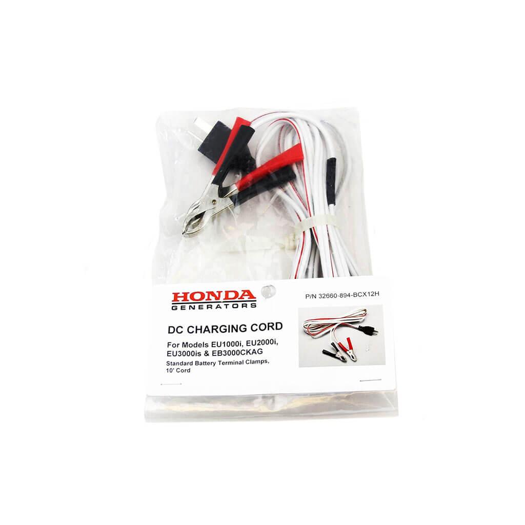 Honda 32660-894-BCX12H 10 in  Generator D C  Charging Cables