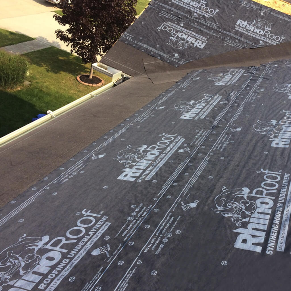 Rhino 42 In X 286 Ft Synthetic Roofing Underlayment