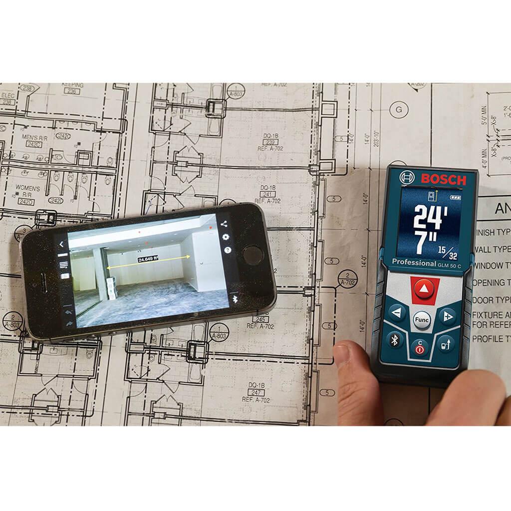 bosch blaze glm 50 c 165 ft laser measure investments hardware limited. Black Bedroom Furniture Sets. Home Design Ideas
