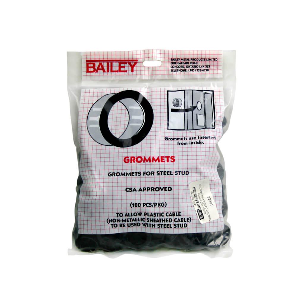 Lighting Basement Washroom Stairs: Bailey Metal Grommets For Steel Stud (100-Pack