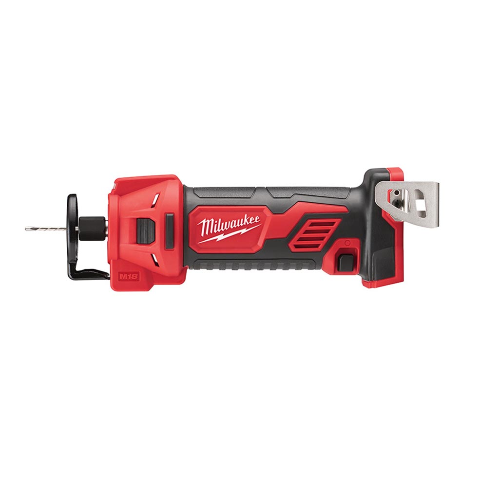 Milwaukee 2627-20 M18 18-Volt Lithium-Ion Cordless Drywall Cutout Tool (Tool Only)