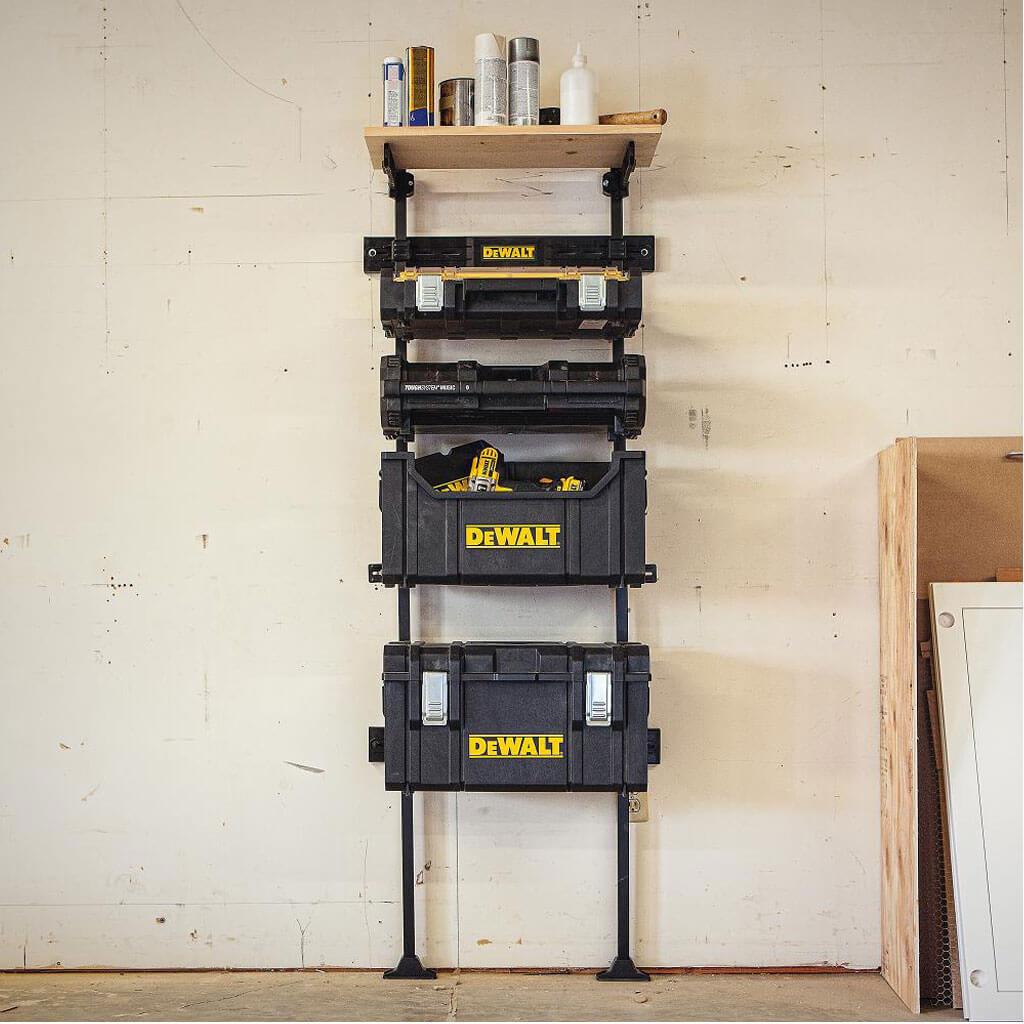 Dewalt Dwst08260 Tough System Workshop Racking System
