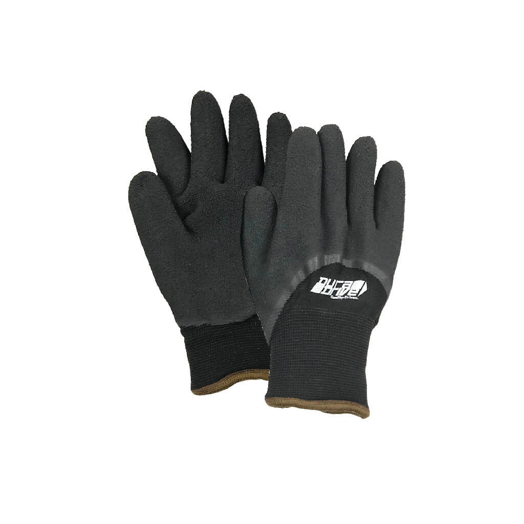 DuraDrive Arctic Grappler Latex-Dipped Palm Acrylic Knit Lining Nylon Shell Work Gloves