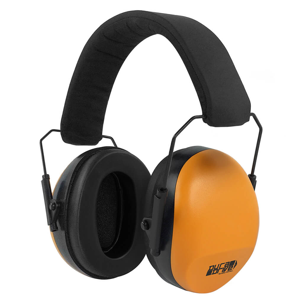 DuraDrive PM8010 Hi-Vis Orange Soft Foam Adjustable Earmuffs